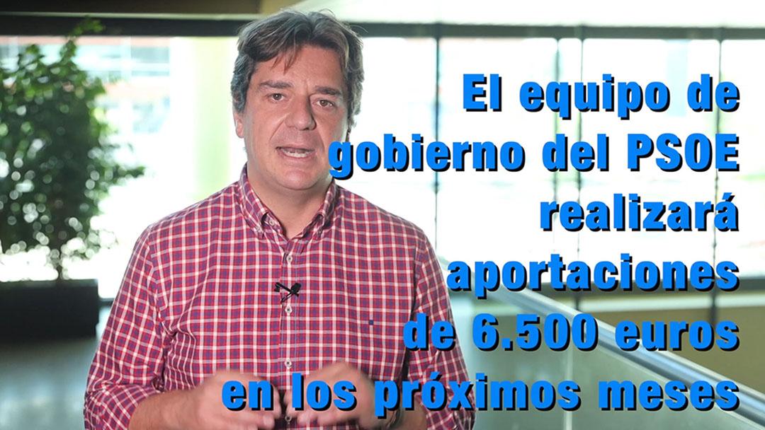 El Equipo de Gobierno socialista del Ayuntamiento de Fuenlabrada dona más de 6.500 euros para combatir la crisis sanitaria del COVID-19
